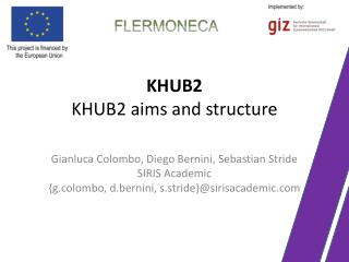 KHUB2 KHUB2 aims and structure