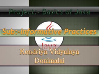 Kendriya Vidyalaya Donimalai