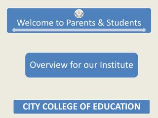 CITY COLLEGE OF EDUCATION Under Mahatma Gandhi University (Recognized by UGC & DEC and Joint Committee of UGC-AICTE-DEC