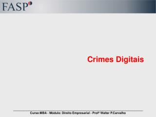 crimes digitais