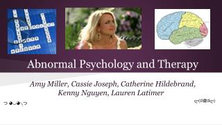 Abnormal Psychology and Therapy
