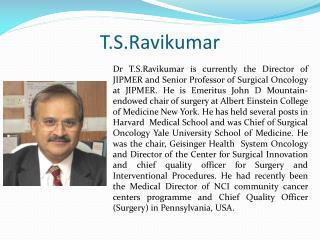 T.S.Ravikumar