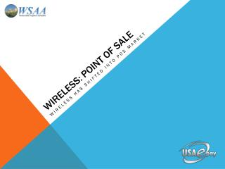 Wireless: Point of sale
