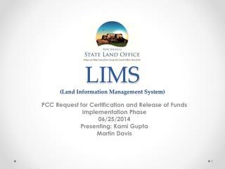 LIMS (Land Information Management System)
