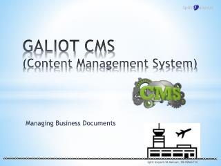 GALIOT  CMS (Content  Management  System)