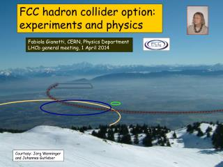 FCC hadron collider option:  experiments and physics