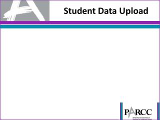 Student Data Upload
