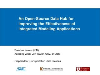 An Open-Source Data Hub for Improving the Effectiveness of Integrated Modeling Applications