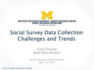 Social Survey Data Collection Challenges and Trends