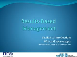 Results-Based  Management