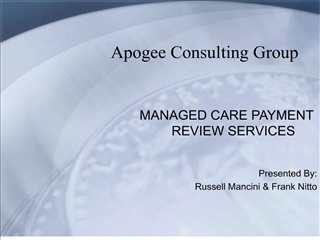 apogee consulting group