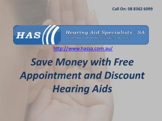 Save Money with Free Appointment and Discount Hearing Aids