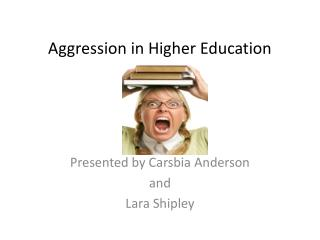 Aggression in Higher Education