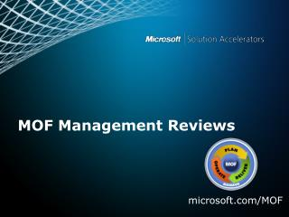 MOF Management Reviews
