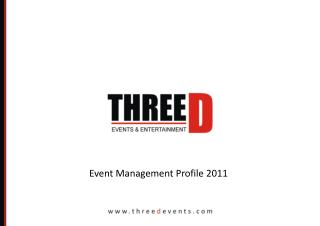 Event Management Profile 2011