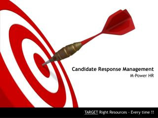 Candidate Response Management