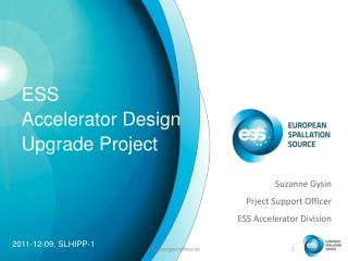 ESS Accelerator Design Upgrade Project