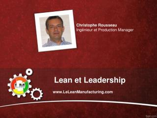 Lean et Leadership