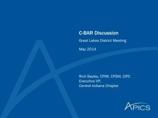 C-BAR Discussion