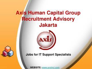 Axis Human Capital Group Recruitment Advisory Jakarta