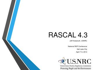 RASCAL 4.3