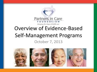 Overview of Evidence-Based Self-Management Programs