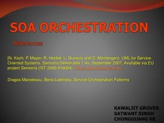 SOA ORCHESTRATION