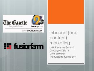 Inbound (and content) marketing