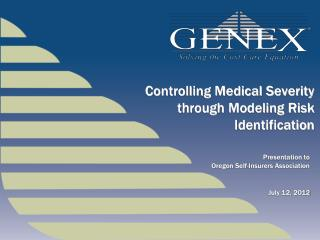 Controlling Medical  Severity through Modeling Risk Identification