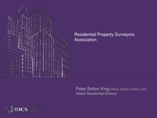 Residential Property Surveyors Association
