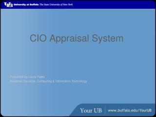 CIO Appraisal System