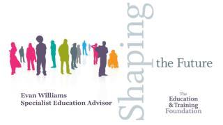 Evan Williams Specialist Education Advisor