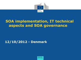 SOA implementation, IT technical aspects and SOA governance