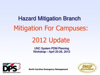 Hazard Mitigation Branch