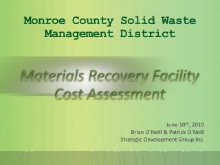 Monroe County Solid Waste Management District