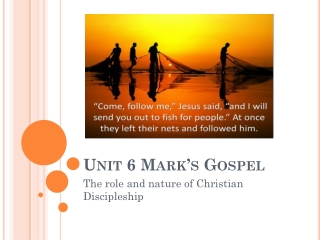 jesus  identity and the mission of the 12