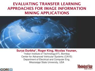 Evaluating Transfer Learning  Approaches  for Image information mining applications
