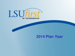 2014 Plan Year
