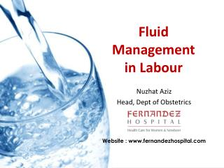 Fluid Management  in Labour
