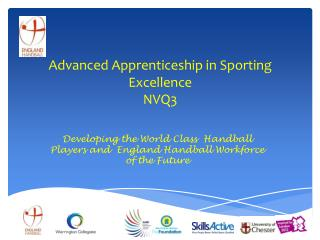 Advanced Apprenticeship in Sporting Excellence NVQ3