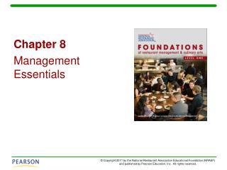 Chapter 8 Management Essentials