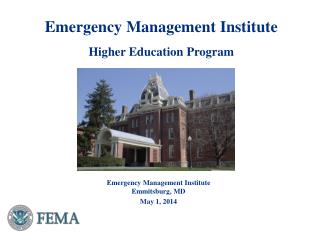 Emergency Management  Institute Higher  Education  Program