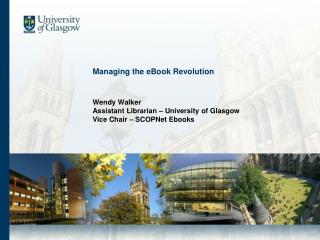 Managing the eBook Revolution