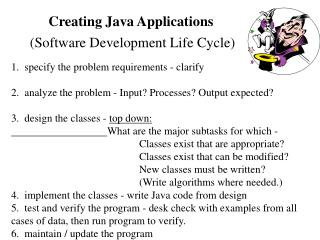 creating java applications
