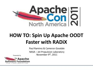 HOW TO: Spin Up Apache OODT Faster with  RADiX