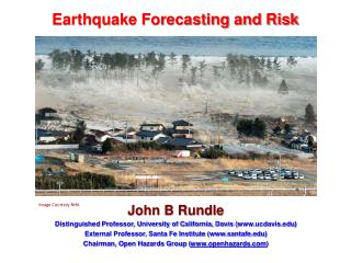 Earthquake Forecasting and Risk