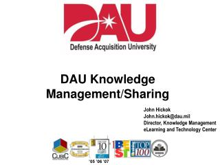 DAU Knowledge Management/Sharing
