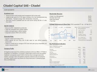 Investment case Unique business model merging asset management with private equity.