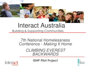 Interact Australia Building & Supporting Communities