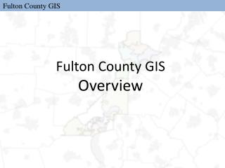 Fulton County GIS